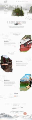 Miette Hot Springs bungalows