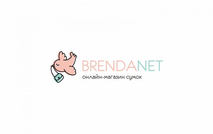 логотип для онлайн магазина сумок - BrendaNet