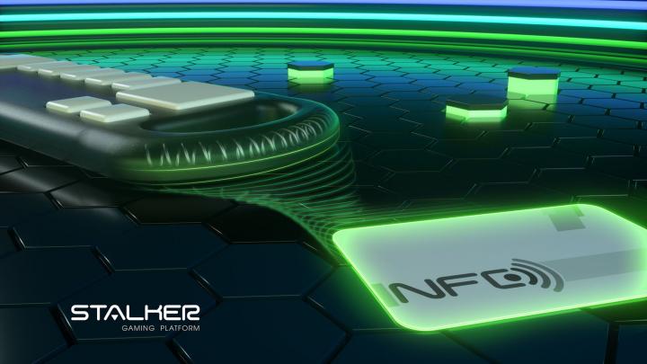 Игровая платформа. Промо. NFC card