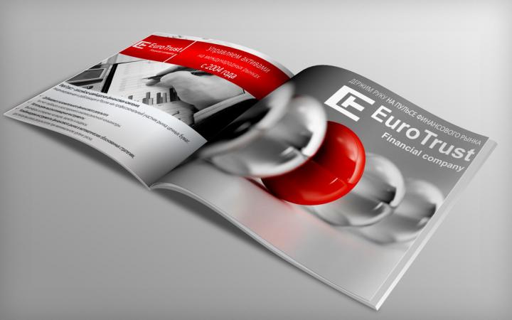 """Презентация """"ЕвроТраст"""" - продающий текст+дизайн"""