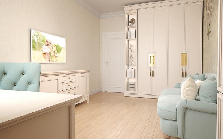 Визуализация гостевой комнаты