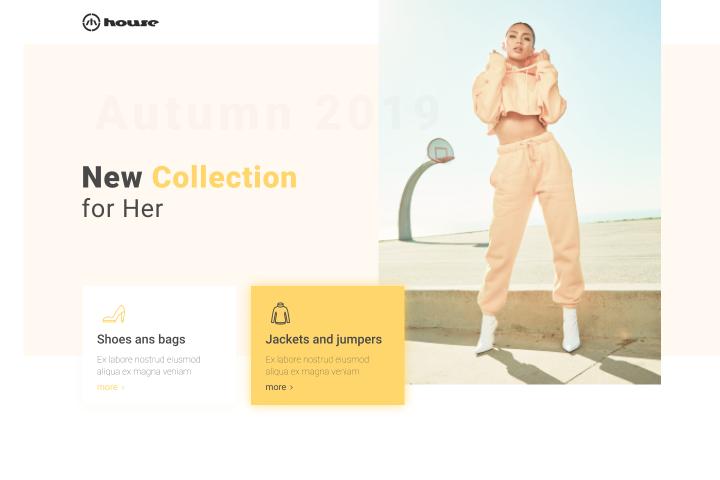 Fashion site - House
