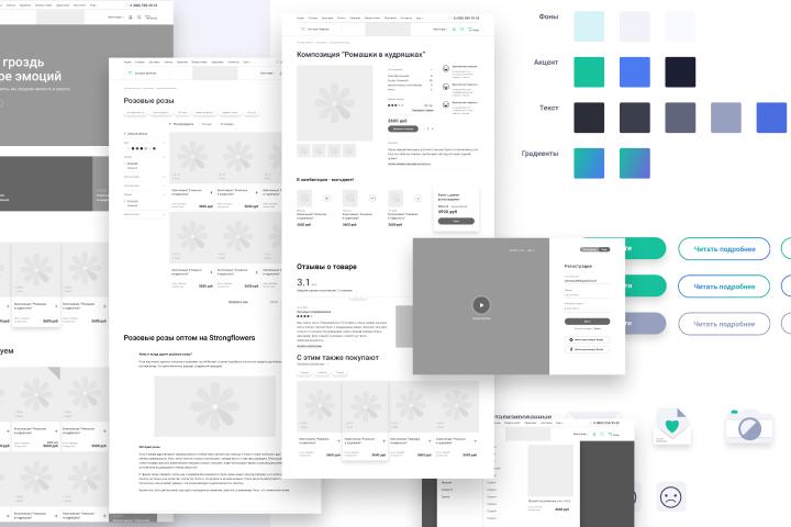 Проектирование и прототипирование интернет-магазина