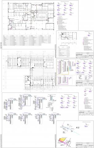 Система контроля и управления доступом комплекса зданий