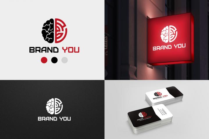 Логотип для Brand You (коммуникационное агентство)