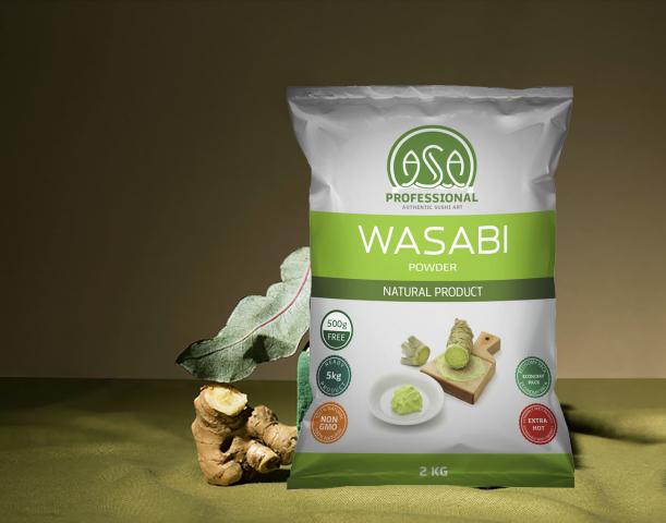 Дизайн упаковки васаби ASA