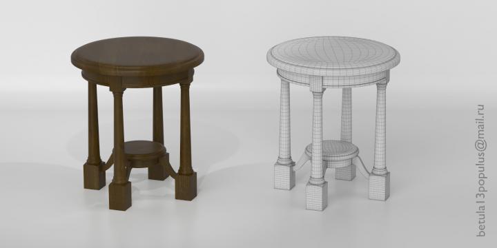 Прикроватная тумбочка - туалетный столик