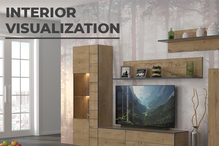 Моделирование мебели и визуализация в интерьере