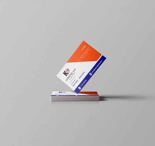 Логотип+визитка для логистической компании K2 Logistics LLC