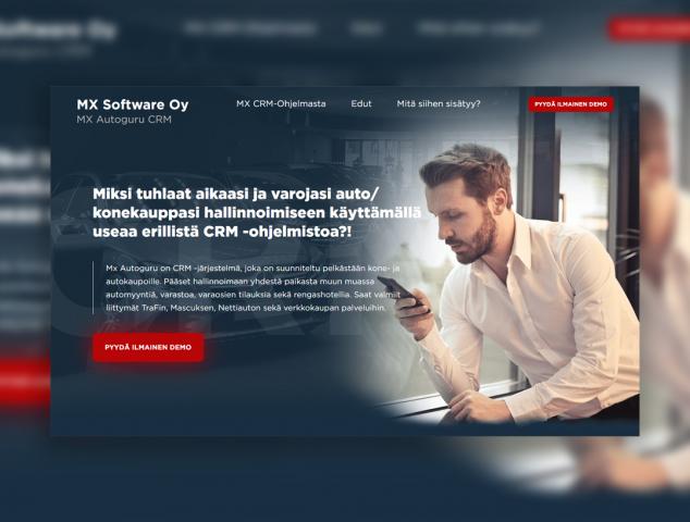 MX Software Oy - Финская CRM для автосалонов