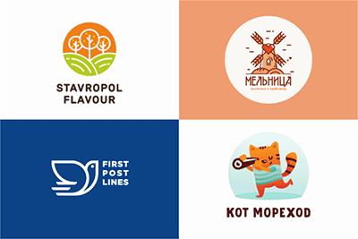 Живые лого