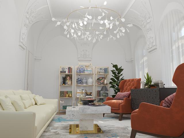 Дизайн интерьера в клубном доме в Москве