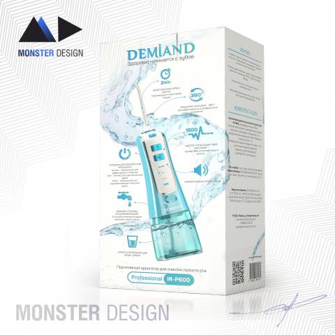 Дизайн упаковки для ирригатора