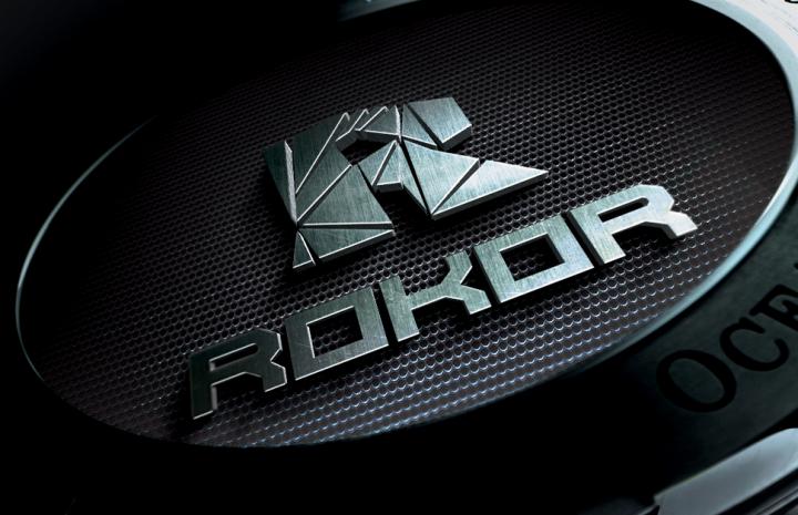 Разработка логотипа для горнодобывающей компании РОКОР