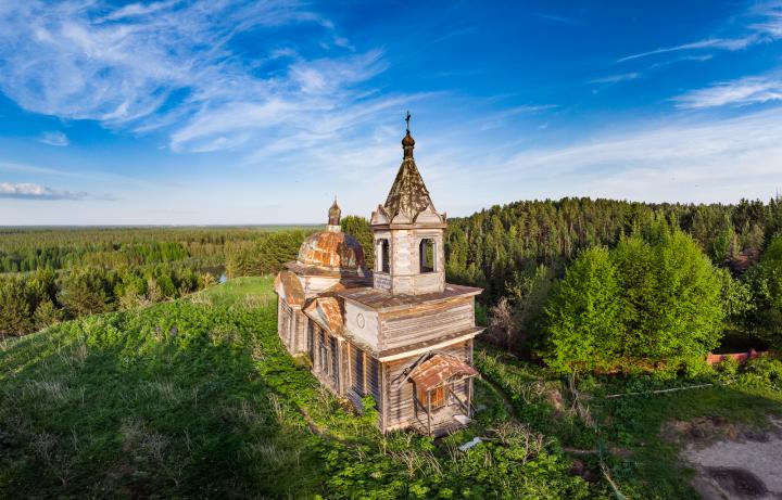 Петропавловская церковь, деревня Нагорный Иштан