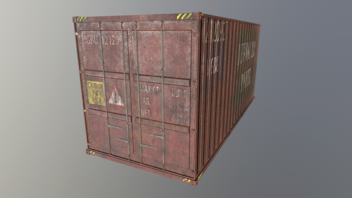 LowPoly_Container