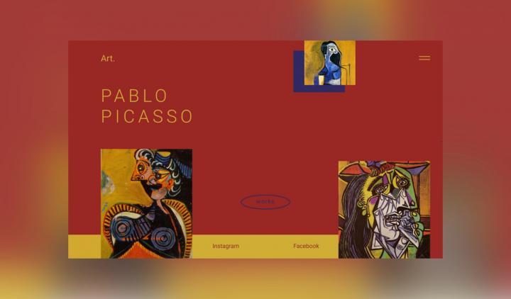Pablo Picasso арт-галлерея