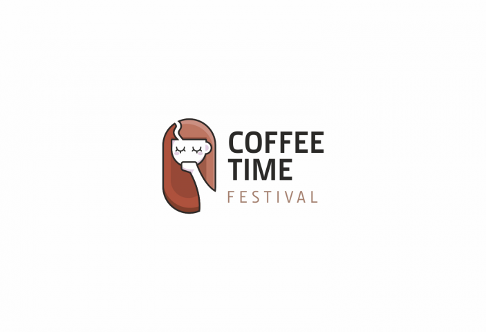 логотип для кофе фестиваля