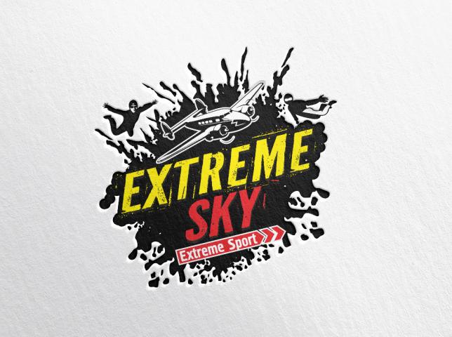 Лого Экстрим скай