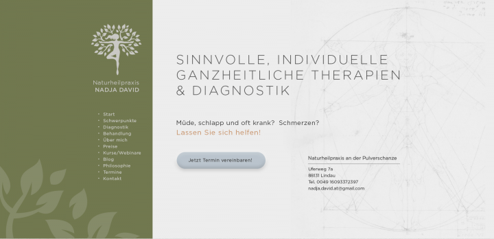 Сайт немецкого врача