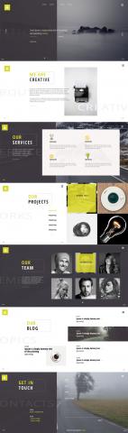 Сайт креативного агенства