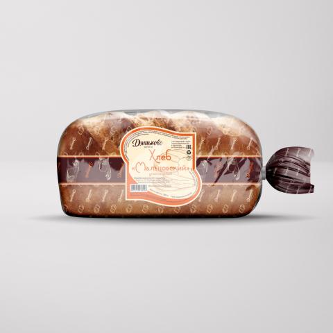 Концепция этикеток для серии хлебов