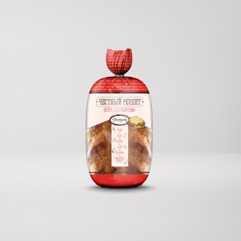 """Упаковка для хлеба """"Честный рецепт"""""""