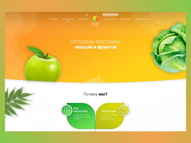 Сайт оптовых поставок овощей и фруктов