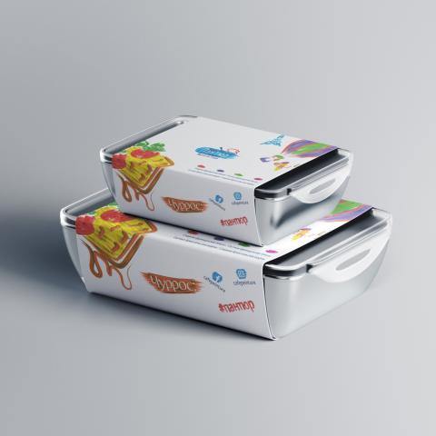 Упаковка для французского бистро