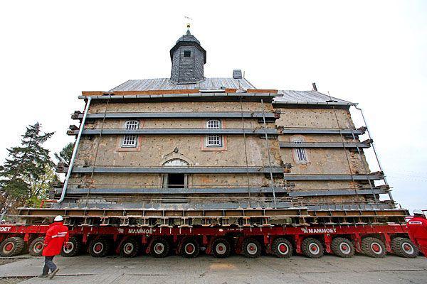 Перевозка необычных грузов тралами