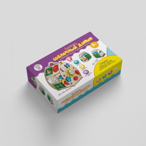 Коробка для бизиборда