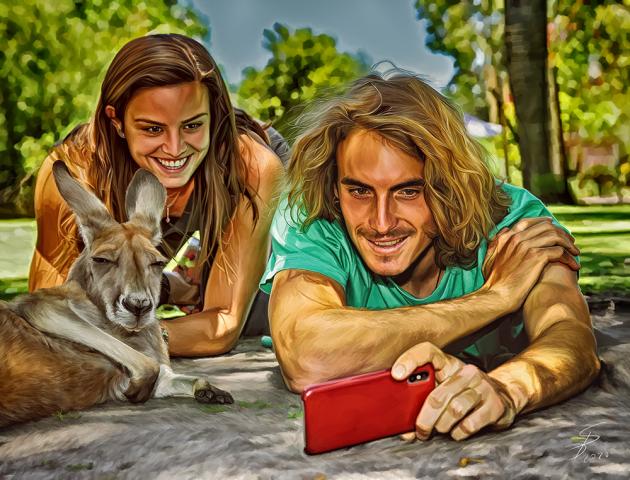 Australian Selfie.