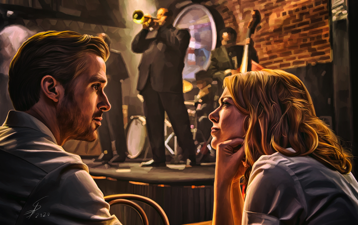 LaLaLand. Illustration.