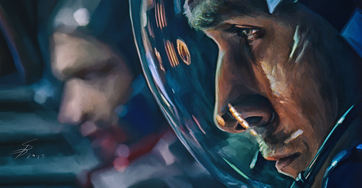 First man mpvie illustration.