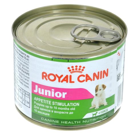 Консервированный корм для щенков