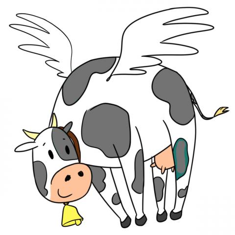 Крылатая Корова