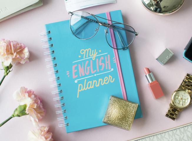Планер для изучения английского