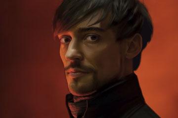 Портрет в Illustrator. 100% вектор