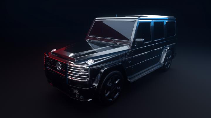 Mercedes GG - Lightning,  Texture