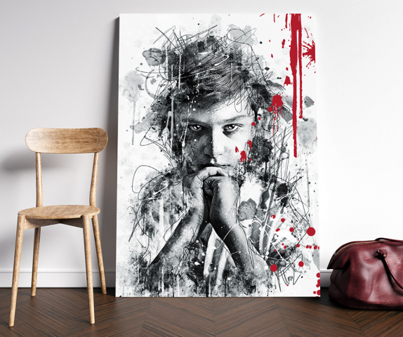 Чтец (Ink style art)