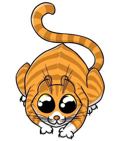 Принт - Кот