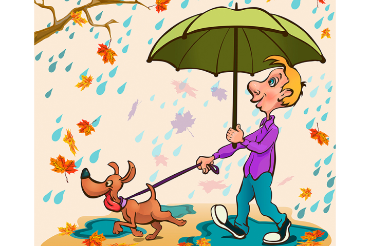Вместе под дождем