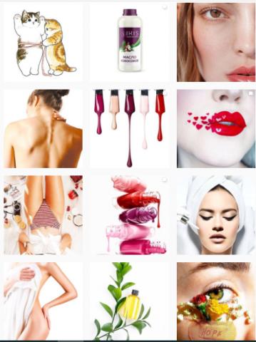 Контент для страницы центра массажа и косметологии
