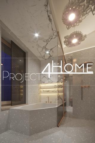 Дизайн-проект коттеджа 272 м2 (2-й этаж мансарды) - санузел