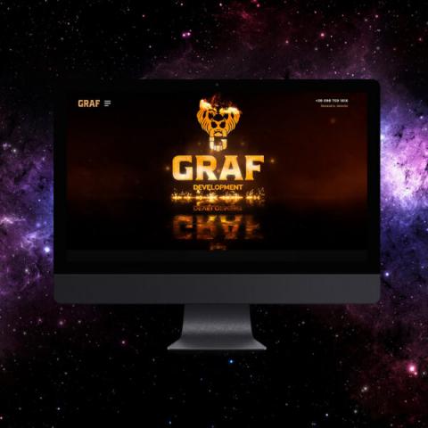 Сайт строительной компании GRAF-DEVELOPMENT
