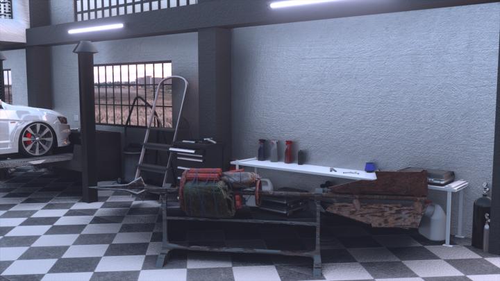 3D моделирование копья для игровой студии