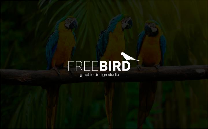логотип для Free bird