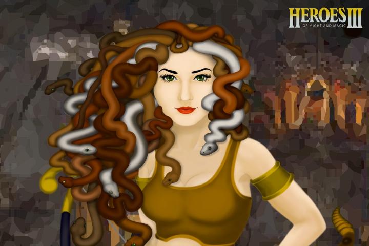 Королева медуз (Heroes III или Герои 3)