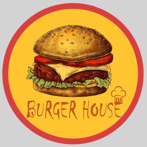 Лого для бургерной