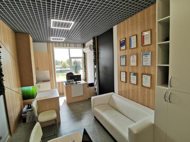 Реализованный проект офиса по продаже кондиционеров